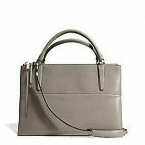 Coach Medium Borough Bag Grey - negotiable!